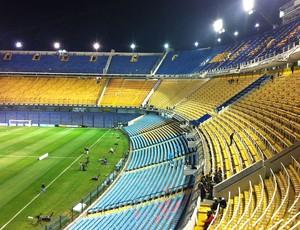 Estádio Bombonera, Boca Juniors x Corinthians (Foto: Zé Gonzalez / Globoesporte.com)