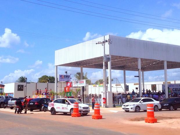 CEU das Artes do estado fica na Zona Norte de Macapá (Foto: Abinoan Santiago/G1)