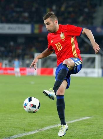 Jordi Alba Espanha (Foto: EFE)