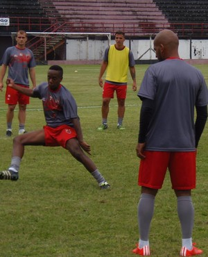 Treino Flamengo-SP Guarulhos (Foto: Marcos V. Ribeiro/AA Flamengo)