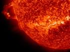 Nasa divulga imagem de erupção solar feita com luz ultravioleta extrema