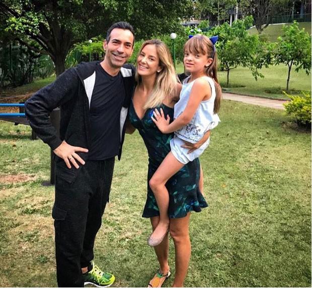 Tralli, Tici e Rafinha: família (Foto: Reprodução Instagram)