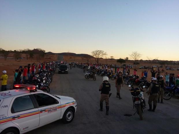 Operação foi realizada no Jardim Olímpico (Foto: Divulgação / Polícia Militar)