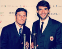 Kaká e Balotelli homenageiam rival Zanetti: ''Grande jogador e vencedor''