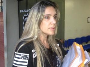 Delegada Silva Nunes, Goiânia, Goiás (Foto: Sílvio Túlio/G1)