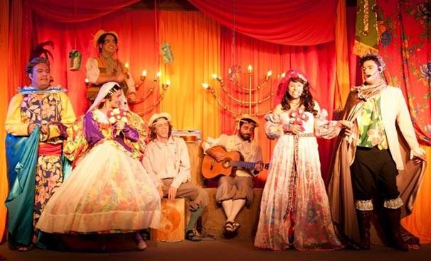 O elenco de 'A Princesa e o Sapo' (Foto: Divulgação)
