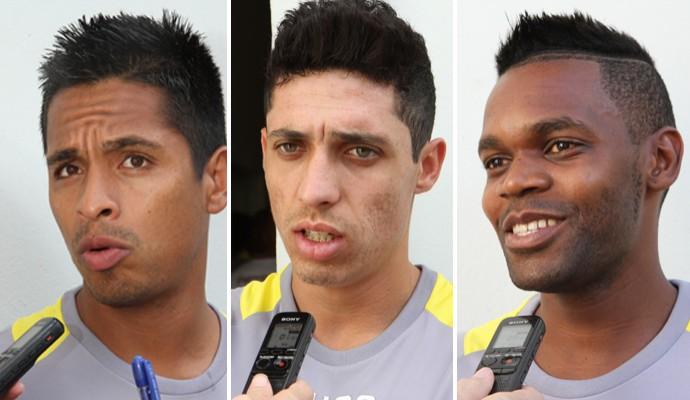 Thiago Silva, Carlinhos e Negueba reforçam a Ferroviária (Foto: Kris Tavares/Tribuna Impressa Araraquara)