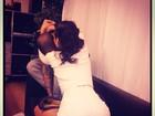 Rihanna agarra Chris Brown: 'Eu não quero ir'