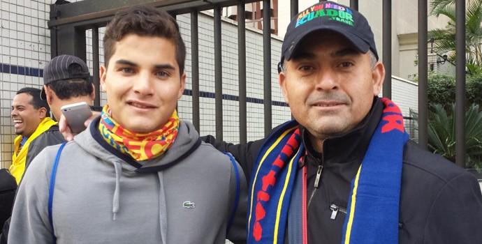 Romário Andrade equador (Foto: Felipe Schimdt)