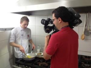 Aprenda a fazer um risoto de congumelos (Foto: Sonia Campos/RBS TV)
