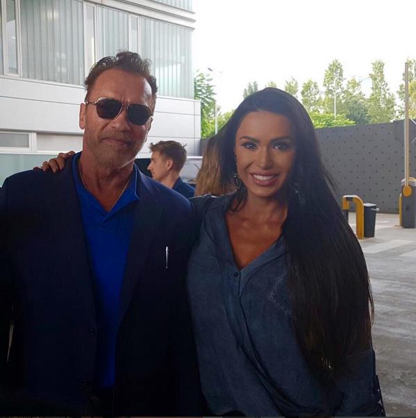 Arnold Schwarzenegger e Gracyanne Barbosa (Foto: Reprodução/Instagram)