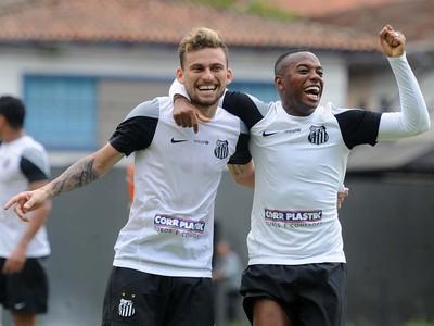 Lucas Lima Robinho, Santos (Foto: Ivan Storti/Santos FC)