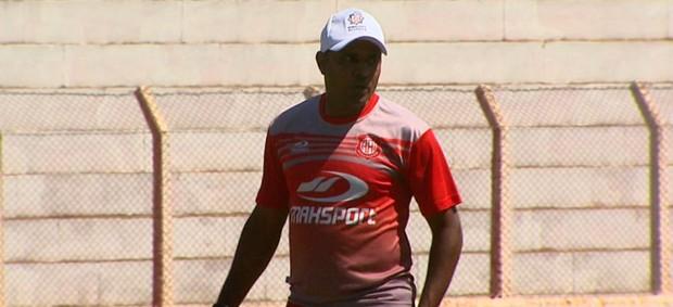 Ney Silva, técnico da Inter de Bebedouro (Foto: Reprodução EPTV)