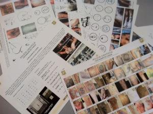 O perito tem, entre variações, mil tatuagens catalogadas (Foto: Bibiana Dionísio/ G1 PR)