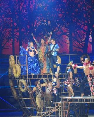 Banda Calypso (Foto: João Miguel Júnior/TV Globo)