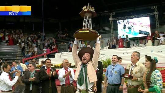 CTG Tiarayú é o grande campeão do Enart 2016; veja mais vencedores
