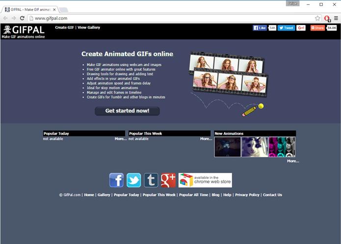 GIFPAL possui um amplo leque de ferramentas (Foto: Felipe Alencar/TechTudo)