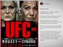Cyborg ironiza UFC e cria cartaz de luta contra Ronda Rousey em 2038