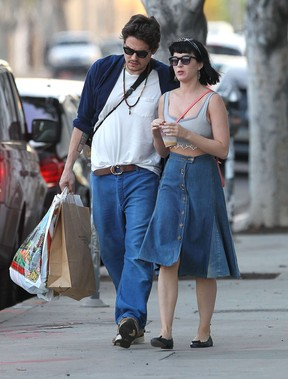 Katy Perry e John Mayer (Foto: Agência Grosby Group)