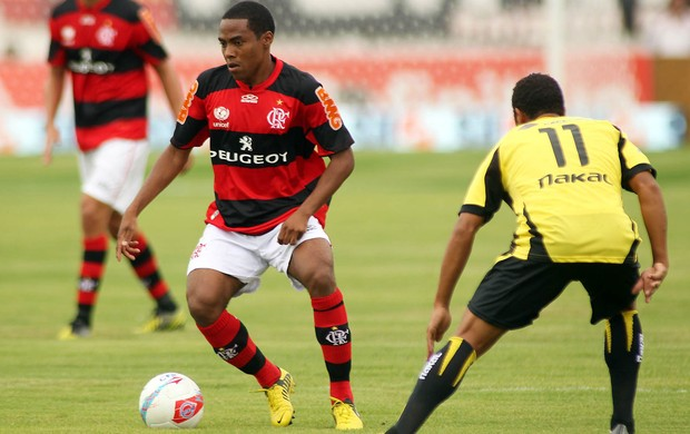 Elias Flamengo x Volta Redonda (Foto: Mauricio val / VIPCOMM)