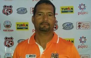 Alexandre Lima, técnico do Serra talhada (Foto: Geovane Oliveira)