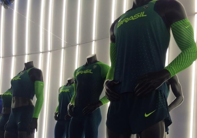 36ae15e86 Uniformes equipe brasielira de atletismo Rio 2016 Nike (Foto  Martin  Fernandez)