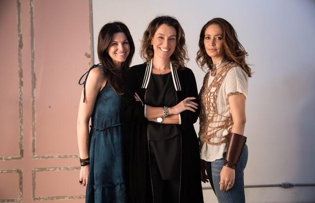 Kelly Becker, Simone Jordão e Lu Gerodetti (Foto: Divulgação)
