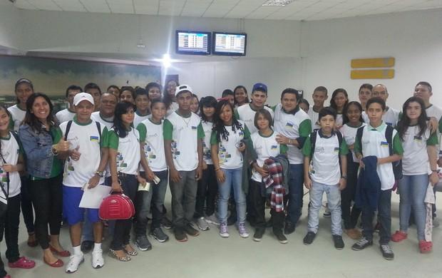 Delegação Amapaense (Foto: Divulgação/Sedel Ascom)