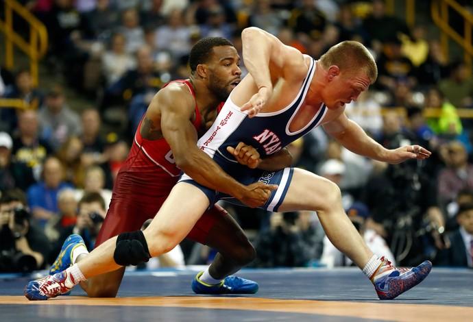 Jordan Burroughs luta olímpica (Foto: Getty Images)