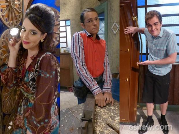 Caracterização dos Personagens (Foto: Pé na Cova/ TV Globo)