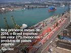 Destaque positivo no PIB, balança comercial do Brasil afeta vizinhos