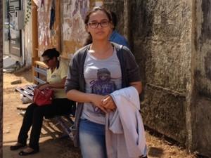 Estudantes podem ficar prejudicados sem a possibilidade da utilização do cartão 'Leva Eu' (Foto: Mary Porfiro/G1)