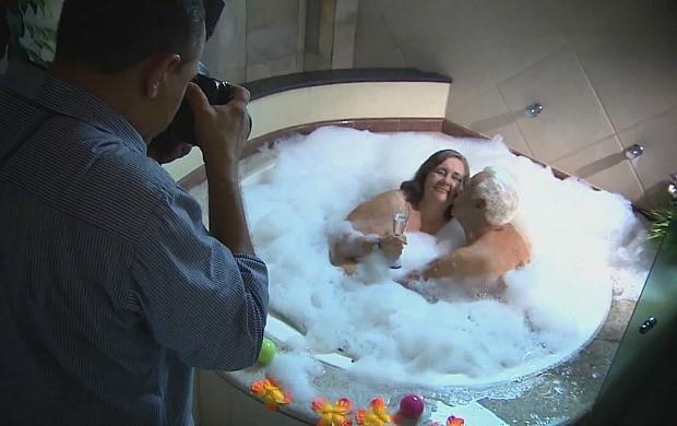 Programa acompanhou o ensaio sensual dos idosos (Foto: Amazônia em Revista)