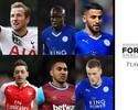 Leicester domina indicações a craque do Inglês; Coutinho disputa no sub-23