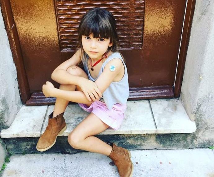 Luisa: amor da vovó, Isabela Garcia (Foto: Arquivo pessoal)