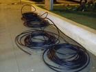Dupla é presa ao furtar R$ 3 mil em cabos telefônicos em via de Tatuí