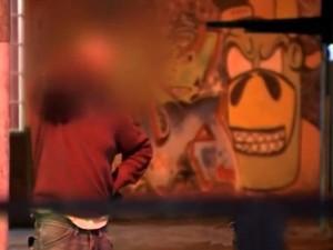 Homem fingiu ser vítima de sequestro na capital (Foto: Reprodução/RBS TV)