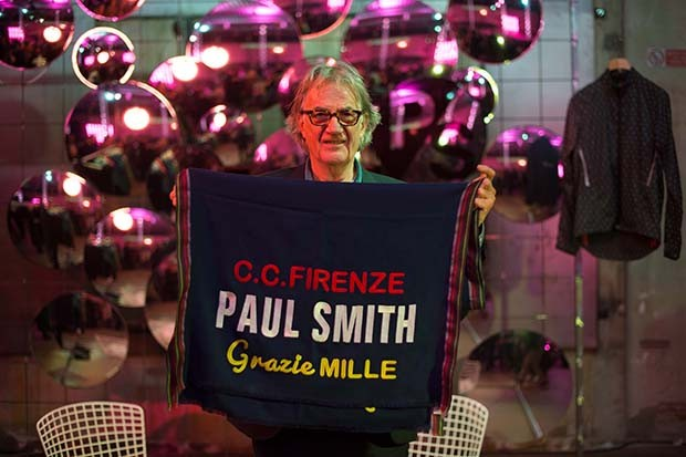 Paul Smith thanks the City of Florence for hosting Pitti Uomo (Foto: VANNI BASSETTI)