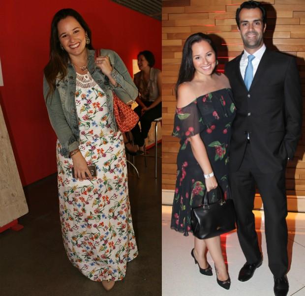 Antes e depois de Mariana Belém  (Foto: Iwi Onodera / EGO e Manuela Scarpa / Brazil News)