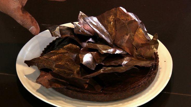 Torta de chocolate com ameixa (Foto: GNT)