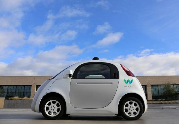 """O """"Firefly"""", um dos modelos de carro autônomo da Waymo, do Google (Foto: Divulgação)"""