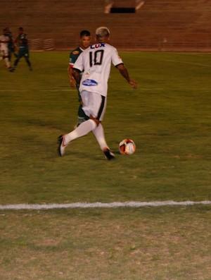 Marcelinho Paraíba, meia do Treze (Foto: Silas Batista / GloboEsporte.com)