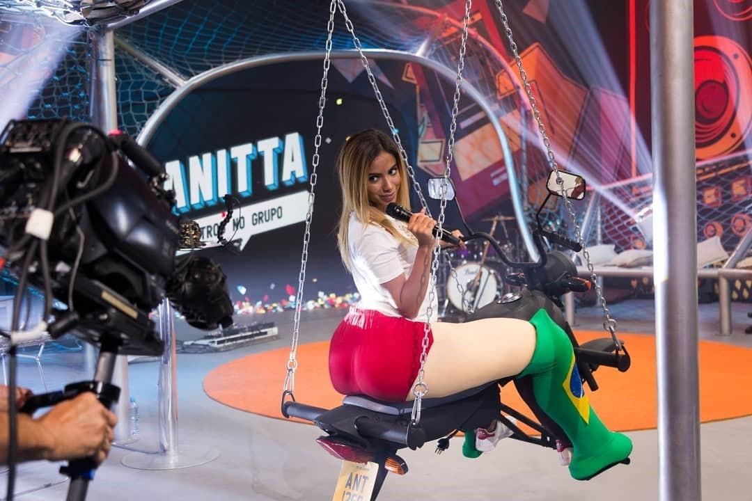 Anitta brilhou no comando da primeira temporada de 'Anitta Entrou no Grupo' (Foto: Fabiano Leone/Multishow)