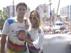 Famosos curtem carnaval pelo Brasil neste sábado, 1º