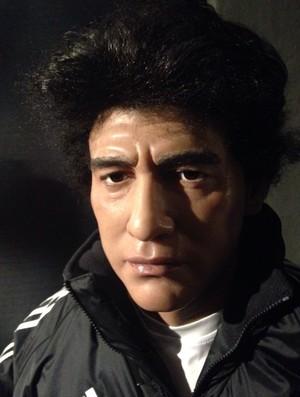 Maradona, museu de cera Gramado