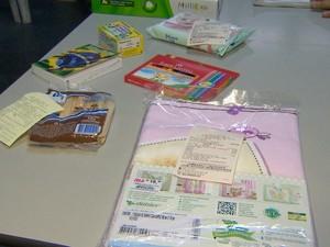 kit escolar sao jose dos campos (Foto: Reprodução/TV Vanguarda)