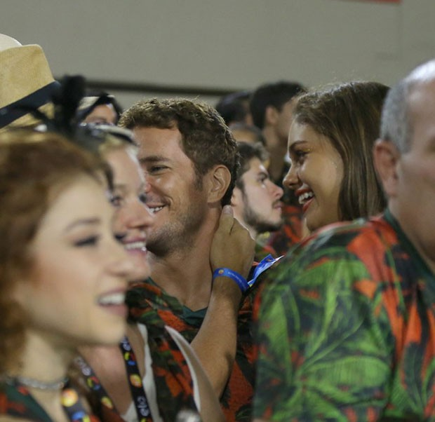 Sophie Charlotte e Daniel de Oliveira (Foto: Delson silva/AgNews)