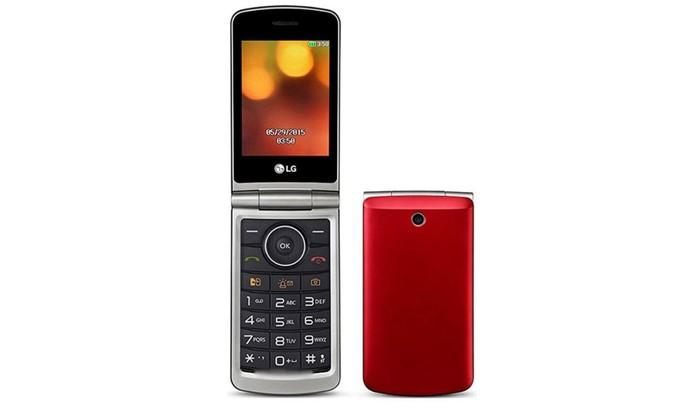 Celular LG G360 tem conexão 2G e tela de 3 polegadas colorida (Foto: Divulgação/LG)