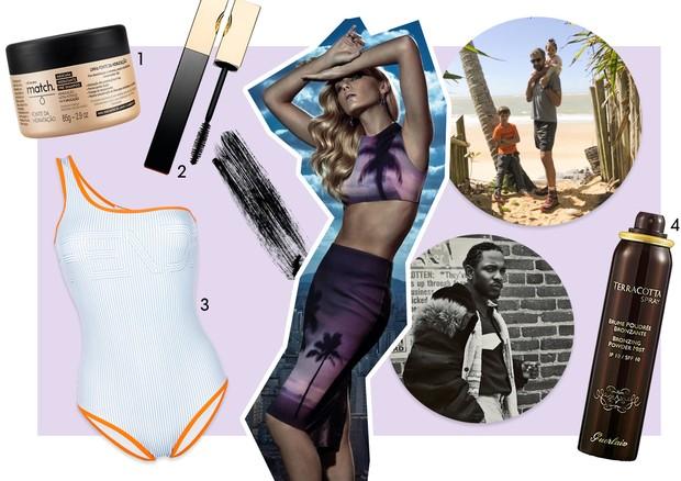 Guia de verão - Ana Claudia Michels (Foto: Zee Nunes/Arquivo Vogue, Reprodução/Instagram e Divulgação)