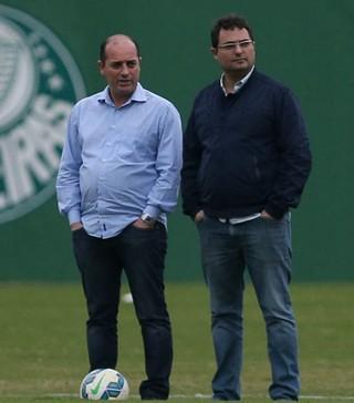 Cícero Souza e Alexandre Mattos Palmeiras (Foto: César Greco / Ag. Palmeiras / Divulgação)